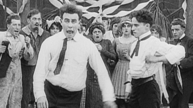 Tango Tangles is one of the early Charlie Chaplin shorts.