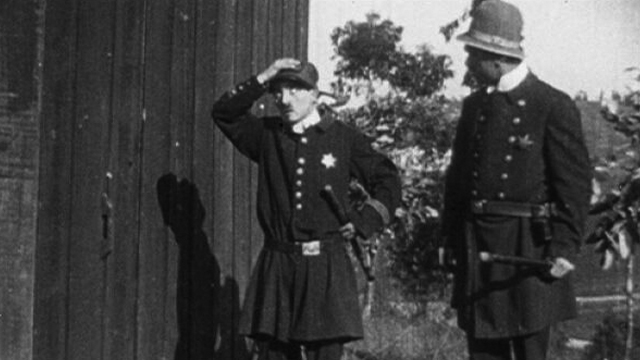 The Thief Catcher was a long lost one of Charlie Chaplin shorts.