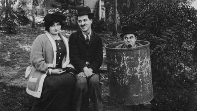 Between Showers is one of the Keystone Charlie Chaplin shorts.