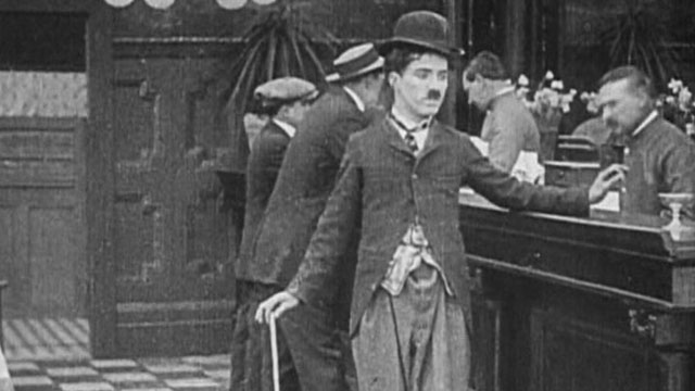 His Favorite Pastime is one of the early Keystone Charlie Chaplin shorts.