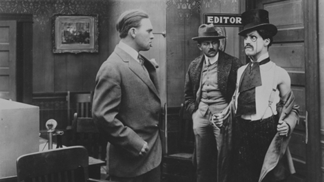 Making a Living is the very first of the Charlie Chaplin shorts at Keystone!