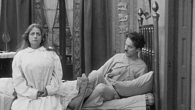 Caught in the Rain is one of the early Keystone Charlie Chaplin shorts.