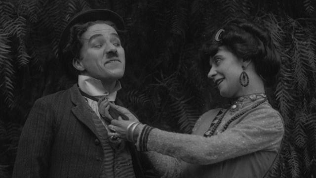 The Charlie Chaplin shorts begin at Keystone.